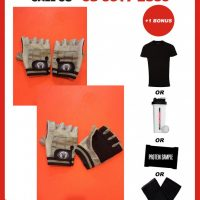 AAA 2016 - Premium Leather Gym Gloves-0