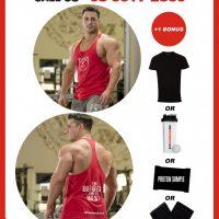 AAA APPAREL   Men's T-Back   Singlet   100% Cotton   Premium Quality