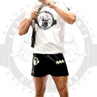 AAA APPAREL - POLYESTER GYM SHORTS   SHORT VERSION