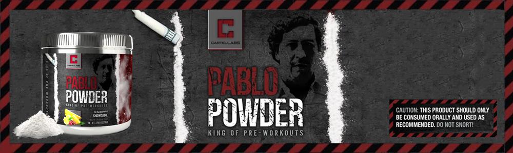 CARTEL LABS PABLO POWDER BANNER
